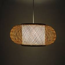 rustic lantern pendant light oriental furniture taka wdld101 japanese bamboo hanging lantern