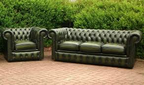 Leather Chesterfields Sofas Green Leather Chesterfield Sofa Green Sofa Pinterest Leather