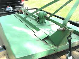 mowing what model jd bush hog is this