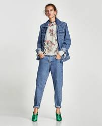 floral print blouse embroidery prints tops woman zara united