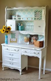 White Desk And Hutch by 1161 Best Desks Images On Pinterest Painted Furniture Furniture