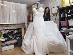wedding dress edmonton brides pin their hopes on a custom wedding gown from edmonton