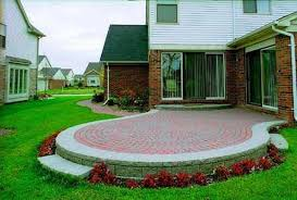 How To Build A Stone Patio by How To Build A Raised Patio Out Of Brick Pavers Hunker