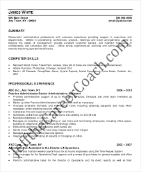 10 medical administrative assistant resume templates u2013 free