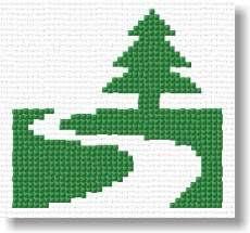 miniature tree pattern cross stitch free patterns free cross
