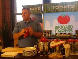 backyard farms tomatoes food travel wine and dine