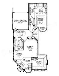 lago vista narrow house plans luxury house plans