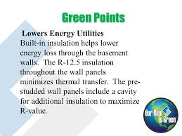 Insulation R Value For Basement Walls by Building With Superior Walls Introducing The Superior Advantage