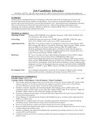 Sample Resume For Financial Analyst Entry Level by Download Junior Network Engineer Sample Resume
