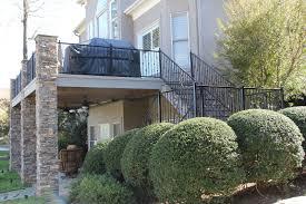 Decorative Wrought Iron Railings Decorative Iron Of Nc Inc Wrought Iron Stair Case Deck Railing