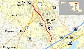 Maryland Counties Map Maryland Route 924 Wikipedia