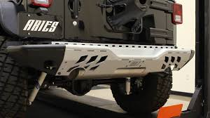jeep rear bumper aries jeep wrangler modular rear bumper youtube