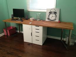Narrow Computer Desks For Home Ikea Computer Table Desks Small Desks Home Design Ideas