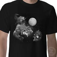 Wolf T Shirt Meme - 3 boowolf moon wakfu parody three wolf moon know your meme