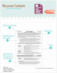 Best Resume Categories by Resume Content The Best Basic Format For A Technical Resume