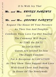 proper wedding invitation wording wedding invitation wording sles and groom inviting lake