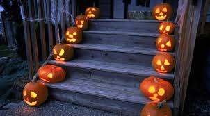 halloween wallpaper for ipad halloween holiday pumpkin stairs porch wallpaper hd wallpapers