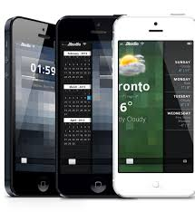 themes lock com peekly an awesome winterboard theme for your iphone lock screen