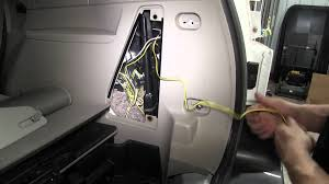installation of a trailer wiring harness on a 2003 buick