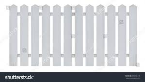 white wooden country style fence isolated stock photo 393338470