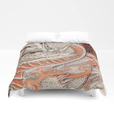 Tattoo Bedding Ukiyo E Duvet Covers Society6