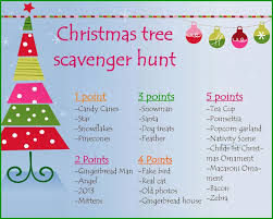muffins vs muffintop christmas tree scavenger hunt
