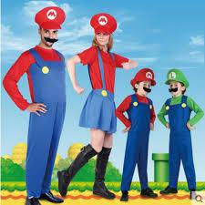 Halloween Costumes Luigi Cheap Super Mario Luigi Halloween Costumes Aliexpress