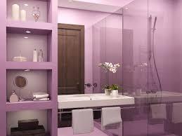 awesome yellow and purple bathroom decor on bathroom design ideas