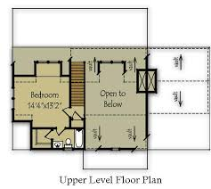 mountain cabin floor plans small mountain cabin plan by max fulbright designs