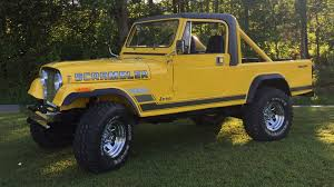 jeep scrambler lifted 1985 jeep scrambler cj 8 f158 louisville 2017