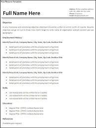 resume templates for free berathen com
