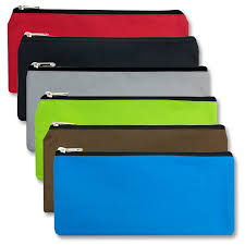 pencil pouch wholesale pencil pouch 6 colors bags in bulk