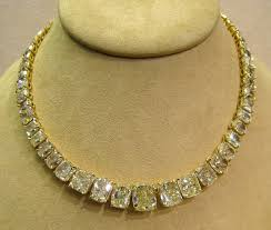 yellow diamonds necklace images 100ct yellow diamond necklace what can i say it 39 s pinterest lol jpg