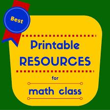 favorite printable math resources singaporemathsource