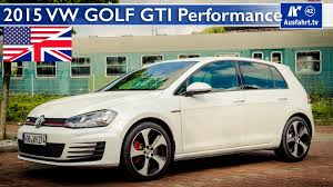 2015 volkswagen vw golf gti performance test test drive and in