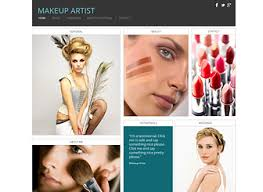 website for makeup artist makeup artist template ideal for make up artists and cosmetics