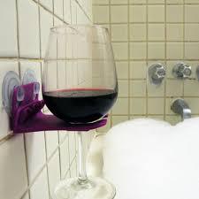 inspirations wineglass holder shower wine glass holder wine