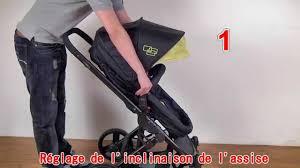 poussette siege auto bebe poussette bébé 4 roues combiné 2 en 1 hamac convertible siège auto