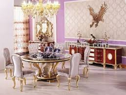 victorian style new classic dining room furniture luxury round