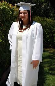 white cap and gown white dresses to wear graduation gown evening wear