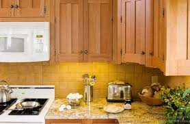Craftsman Kitchen Cabinets Pictures Of Kitchens Traditional Light Wood Kitchen Cabinets