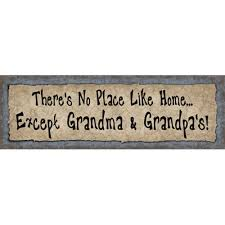 grandparent plaques and s house l wood sign for l
