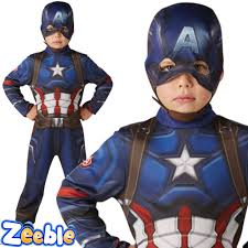 kids captain america or iron man costume civil war boys superhero