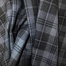 Tartan Drapes Luxury Tartan Fabric Grey Granite U2022 Shop U2022 Remnant Kings