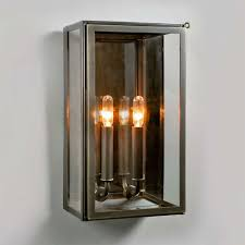 Antique Brass Outdoor Wall Lights by Urban Electric Vic Indoor Outdoor Wall Sconce In Bronze Ue 8710 Bz