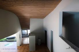 Outdoor Wood Ceiling Planks by Concrete Look Home With Wooden Plank Exterior