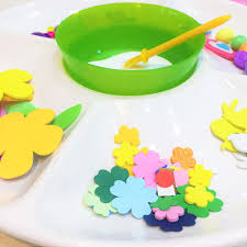 easter egg collage bunting simple kids craft newyoungmum