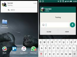 apple update wallpaper whatsapp for android to soon add quick reply feature solid color