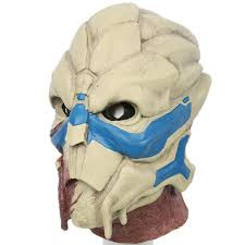 mass effect garrus vakarian mask latex mask horrible mask for