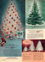 artificial christmas trees a vintage catalog extravaganza